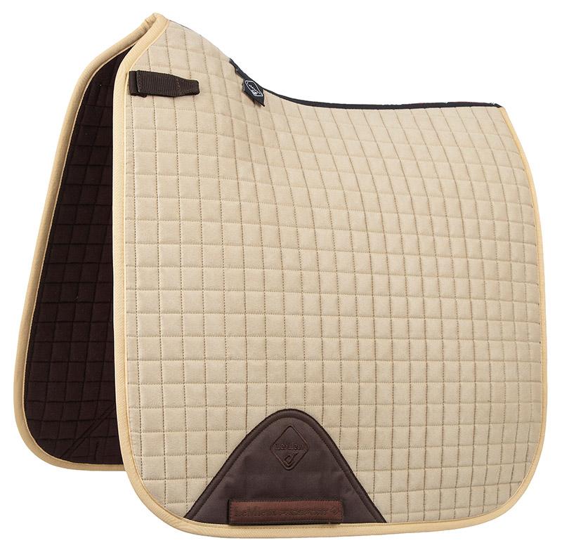 LeMieux Pro-Sport saddle pad dressage beige suede