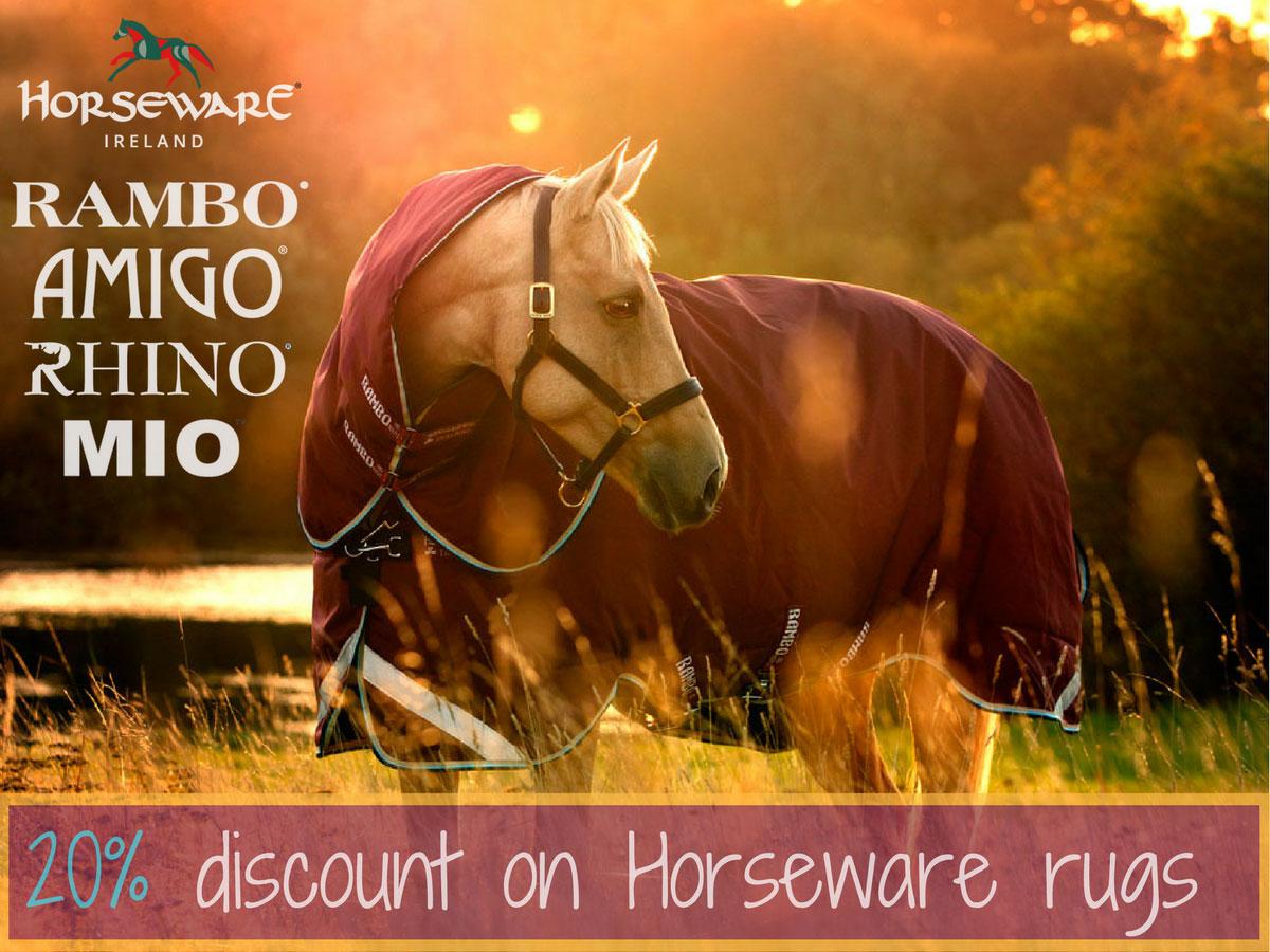 Horseware 20% discount