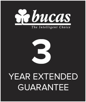 Bucas 3 year warranty
