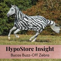 Gastblog by Bucas: Hou de vliegen op afstand met een Bucas zebra vliegendeken!