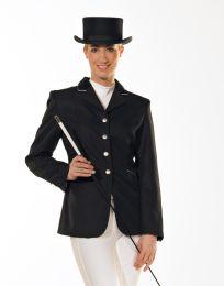 Ladies´ riding jacket with velvet collar