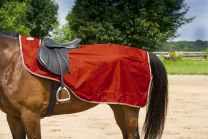 "EQUI-THÈME ""Tyrex"" 600D exercise sheet, polar fleece lined"