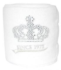 Pfiff fleece bandages with glittering logo