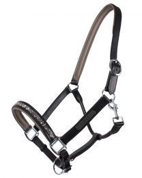 QHP Leather Halter Lupine