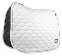 Fair Play Hexagon saddle pad White