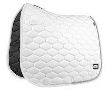 Fair Play Hexagon Crystal saddle pad White