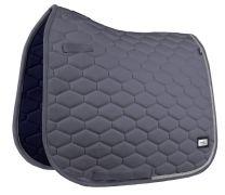 Fair Play Hexagon Crystal saddle pad Dark Grey
