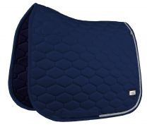 Fair Play Hexagon Crystal saddle pad Navy
