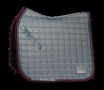 Equito Dressage Saddle Pad Platinum Grey