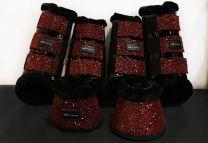 Amare Boots Set Burgundy