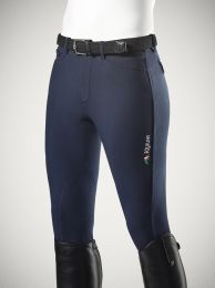 Equiline Grafton Mens Breeches with logo on the leg