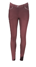 Montar SS'20 Fryd ladies breeches full grip plum