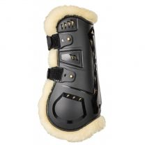 Back on Track AirFlow Tendon Boots Faux Fur