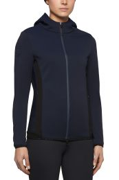 Cavalleria Toscana FW'20 Piquet Hooded Softshell Jersey Inserts Ladies Jacket