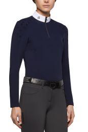 Cavalleria Toscana FW'20 Flocked Mini CT Jersey Fleece L/S Wedstrijdshirt