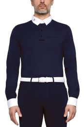Cavalleria Toscana FW'20 Brushed Jersey L/S Competition Polo Men