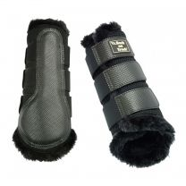 Back on Track 3D Mesh Brushing Boots faux fur