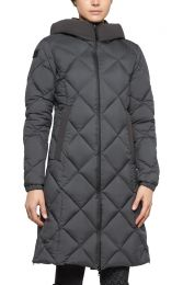 Cavalleria Toscana FW'20 Quilted Nylon Hooded Parka Fleece Ladies Coat