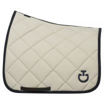 Cavalleria Toscana SS'21 Jersey Quilted Rhombi Dressage saddle pad
