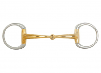 BR Single Jointed Eggbutt Snaffle Soft Contact 12 mm Ø 55 mm