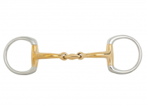 BR Double Jointed Eggbutt Snaffle Soft Contact 12 mm Ø 55 mm
