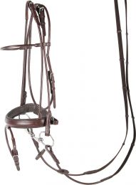 Harry's Horse luxurious rolled bridle