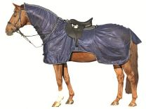 HKM Ride on fly rug with neck piece