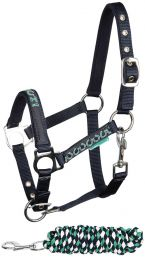 Harry''s Horse Halter Set STOUT! Green AW'19