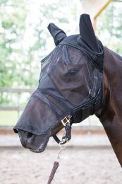 Harry's Horse Mesh fly mask Flyshield with nose protection