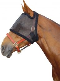 Harry's Horse full mesh fly mask Black