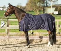 Harry's Horse Polycotton summer rug navy