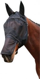 Harry's Horse full mesh fly mask with nose protection and ears