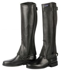 Harry's Horse half chaps soft leather black