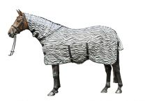 HKM Fly Rug Zebra with neck