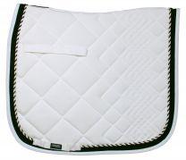 Catago Diamond white/black saddle pad dressage
