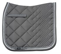 Catago Diamond grey/white saddle pad dressage