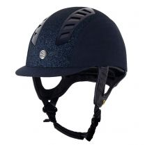 Back on Track EQ3 Helmet Microfiber with Strass