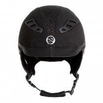 Back on Track EQ3 Lynx Microfibre Sand Glitter Helmet