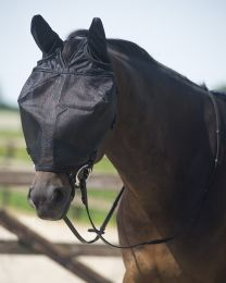 QHP riding fly mask with ear protection