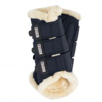 Eskadron Classic SS '18 soft tendon boots faux fur