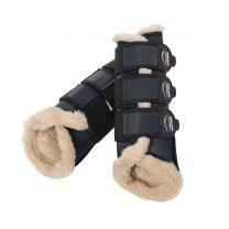 Eskadron Heritage AW '18 soft tendon boots faux fur