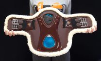 eQuick eOnyx Fluffy Eventing / Cross Country Girth