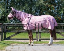QHP SS'21 Fly Rug Collection neck+hood