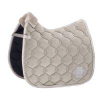 Eskadron Classic AW'19 Velvet saddle pad Soft Grey