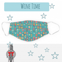 Dreamers & Schemers Wine Time Mask