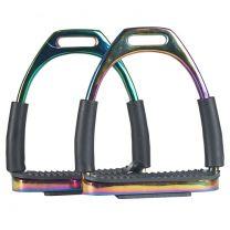 Horka Fillis stirrup flex Rainbow