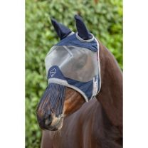 LeMieux Armour Shield Fly Mask with ears and fringe nose