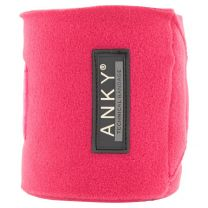ANKY® FW'20 fleece bandages Fuchsia Red
