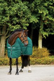 Rambo Stable Rug Medium Hunter Green & White 200 gr.