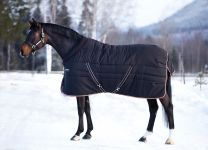 Rambo Cosy Stable heavy Black, tan/orange and black 400gr. Pony